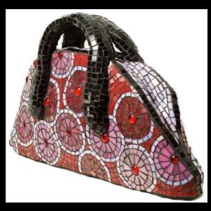 Mosaic Handbag - Rosie